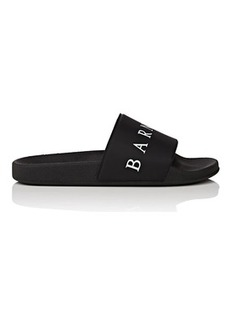 Barneys New York Women's Logo Rubber Slide Sandals