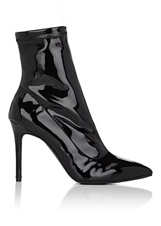 Barneys New York Women's Lula Patent Leather Ankle Boots