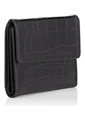 Barneys New York Women's Medium Leather Wallet - Black