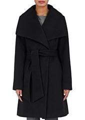 Barneys New York Women's Melton Wrap Coat