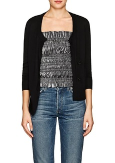 Barneys New York Women's Merino Wool Asymmetric Cardigan