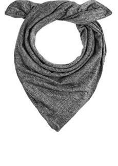 Barneys New York Women's Metallic Double-Faced Knit Bandana