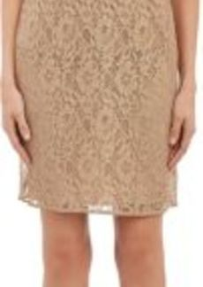 Barneys New York Women's Metallic Lace Dress