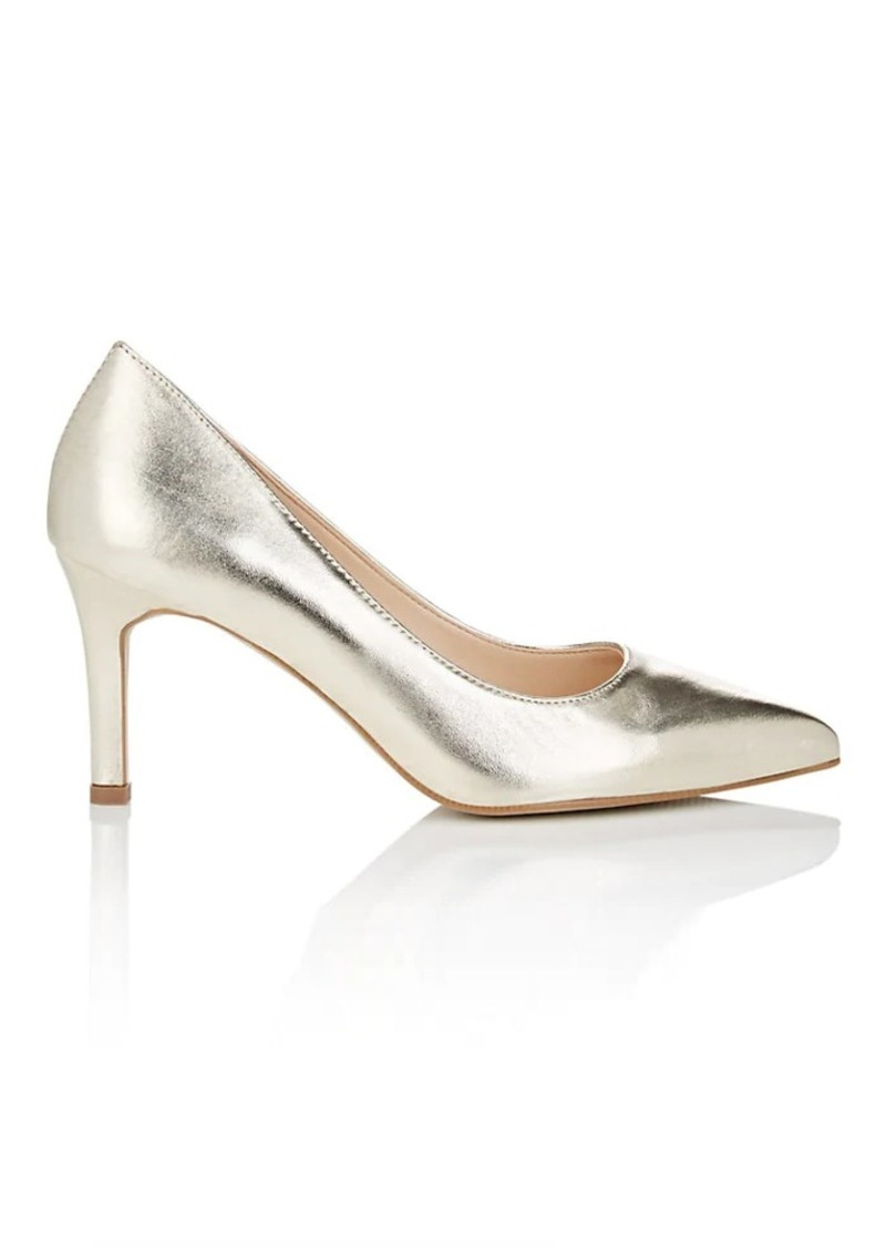 Barneys New York Women's Metallic Leather Pumps