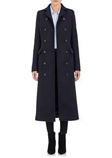 Barneys New York Women's Military Long Coat