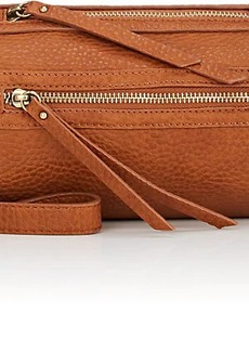 Barneys New York Women's Mini Leather Round Duffel Bag - Camel