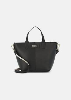 Barneys New York Women's Mini Leather Tote - Black