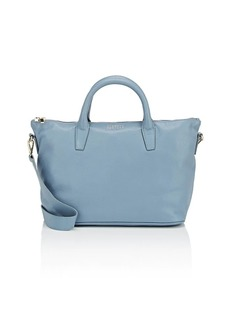 Barneys New York Women's Monica Leather Satchel - Blue