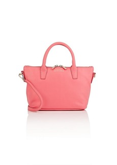 Barneys New York Women's Monica Mini Leather Satchel - Pink