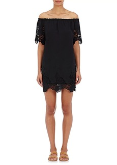 Barneys New York Women's Off-The-Shoulder Dress