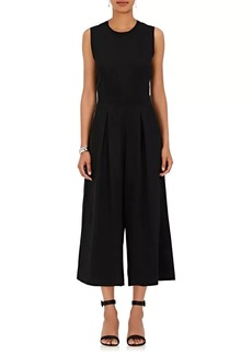 Barneys New York Women's Organza-Back Crepe Jumpsuit