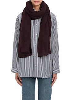 Barneys New York Women's Oversized Cashmere-Silk Scarf - Wine