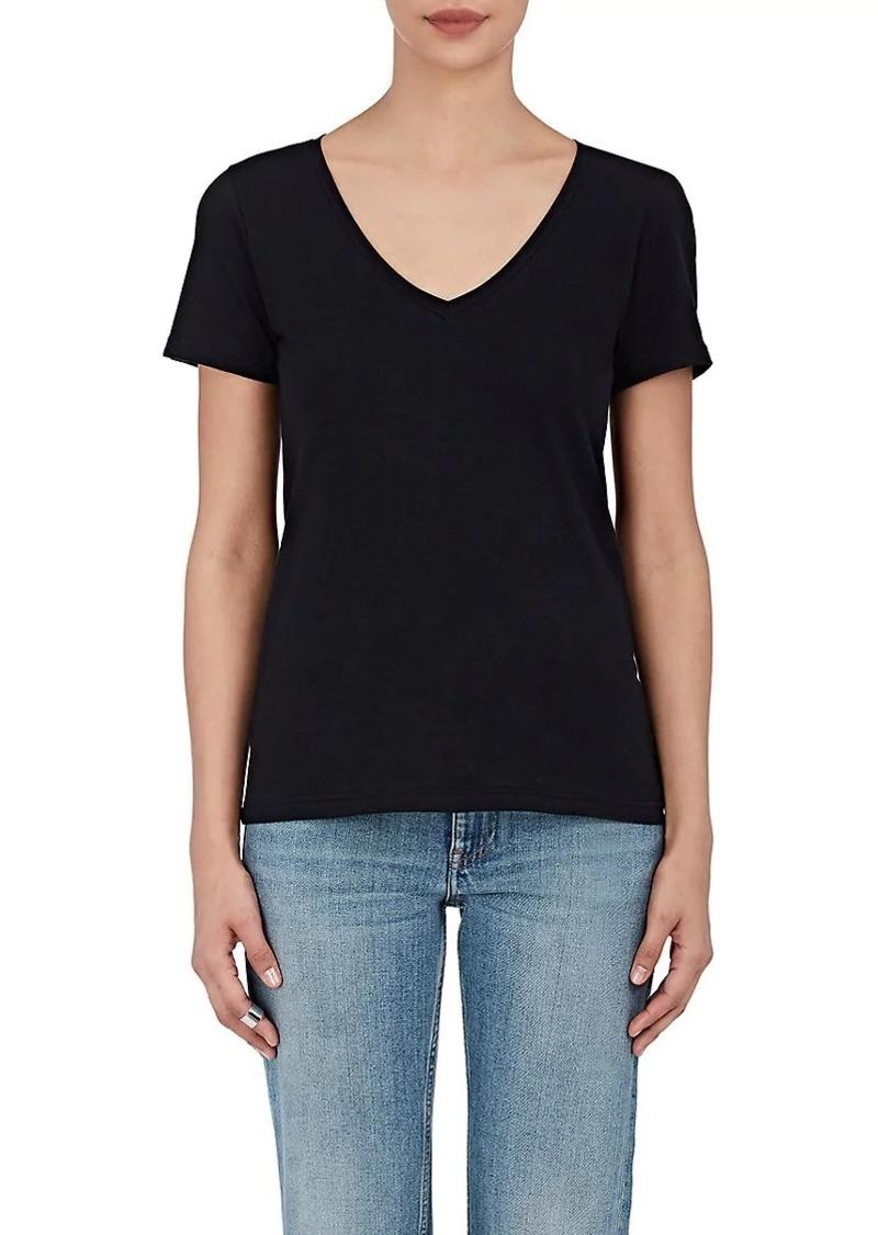 0e6170c37881c Barneys New York Barneys New York Women s Pima Cotton V-Neck T-Shirt ...