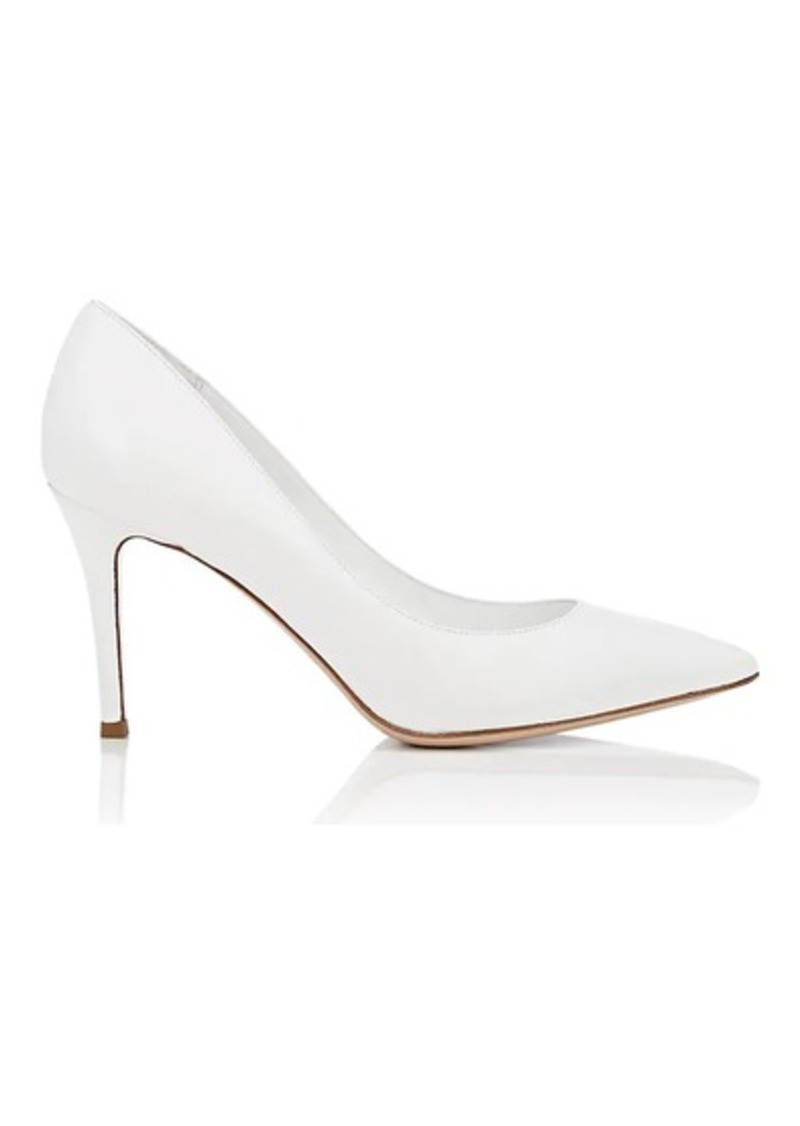 Barneys New York Women's Pointed-Toe Leather Pumps