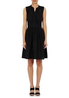 Barneys New York Women's Poplin Sleeveless Dress