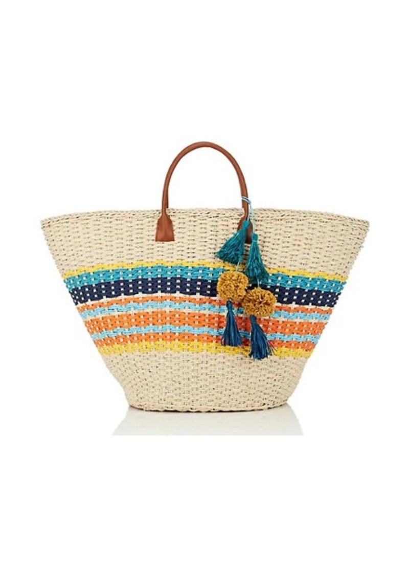 Barneys New York Womens Provence Straw Tote Bag xKeG1