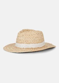 Barneys New York Women's Raffia Rancher Hat - Neutral
