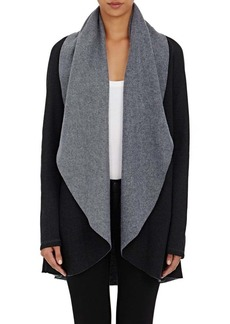 Barneys New York Women's Rapu Fleece Cardi Sweater