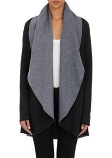 Barneys New York Women's Rapu Fleece Cardi Sweater