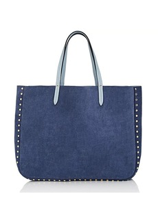 Barneys New York Women's Reversible Tote Bag - Blue