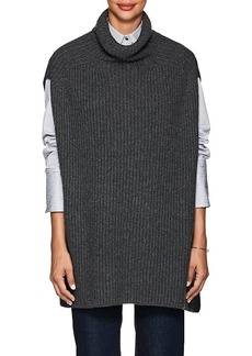 Barneys New York Women's Rib-Knit Cashmere Cape