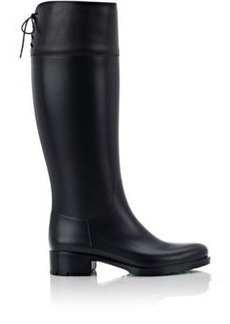 Barneys New York Women's Rubber & Leather Rain Boots