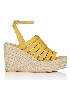 Barneys New York Women's Satin Espadrille Sandals