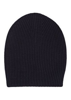 Barneys New York Women's Shaker-Stitched Slouchy Hat