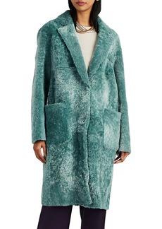 Barneys New York Women's Shearling Coat