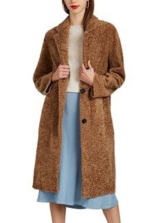 Barneys New York Women's Shearling Long Coat