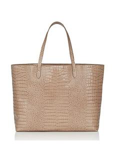 Barneys New York Women's Shopper Tote Bag - Gray
