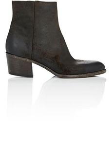 Barneys New York Women's Side-Zip Ankle Boots