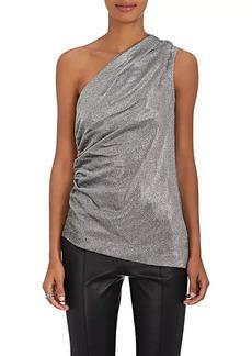 Barneys New York Women's Silk-Blend One-Shoulder Blouse