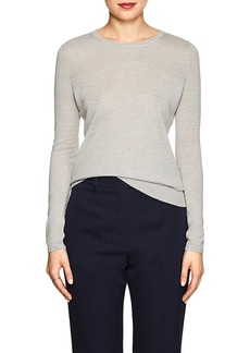 Barneys New York Women's Silk-Cashmere Crewneck Sweater