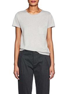 Barneys New York Women's Silk-Cashmere Short-Sleeve Sweater