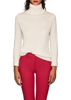 Barneys New York Women's Silk-Cashmere Turtleneck Sweater