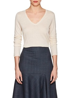 Barneys New York Women's Silk-Cashmere V-Neck Sweater