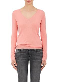 Barneys New York Women's Silk-Cashmere V-Neck Sweater