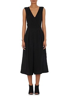 Barneys New York Women's Sleeveless V-Neck Jumpsuit