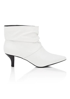Barneys New York Women's Slouchy Leather Ankle Boot