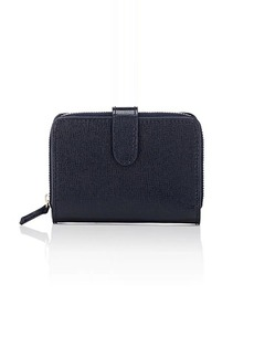 Barneys New York Women's Small Billfold Wallet - Navy