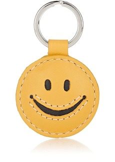 Barneys New York Women's Smiley Key Ring - Yellow