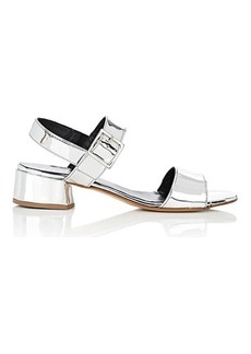 Barneys New York Women's Specchio Leather Slingback Sandals