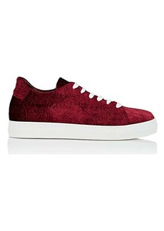 Barneys New York Women's Stamped Velvet Sneakers