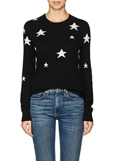 Barneys New York Women's Star-Print Cashmere Sweater