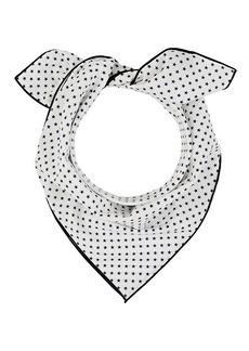 Barneys New York Women's Star-Print Cotton Bandana