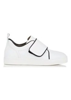 Barneys New York Women's Strap-Detailed Leather Sneakers