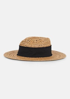 Barneys New York Women's Straw Rancher Hat - Brown