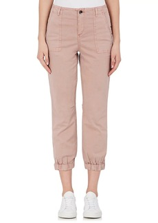 Barneys New York Women's Stretch-Cotton Cargo Pants