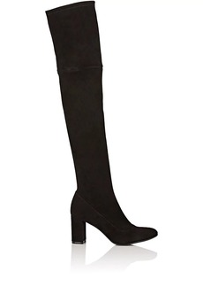 Barneys New York Women's Stretch-Suede Over-The-Knee Boots